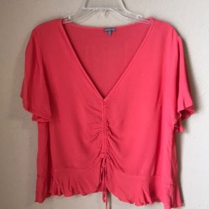 Charlotte Russe Coral Top